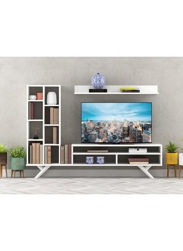 Sanal Mobilya Grace Tv Ünitesi Beyaz